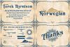 5 Typeface vintage bundle example image 4