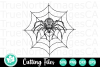 Zentangle Spider - An Zentangle SVG Cut File example image 2
