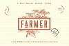 The Farmer Font - Condensed Typeface example image 3