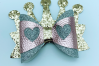 Hair bow - Princess crown hair bow svg file - diy hair bows example image 2