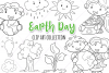 Earth Day Digital Stamps example image 1