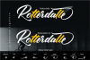 Rotterdalle Hand Lettered Script example image 2