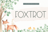 Foxtrot - Handwritten Font example image 1
