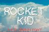 Rocket Kid | An All Caps Kid Drawn Font example image 1