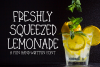 Freshly Squeezed Lemonade - A Fun Hand-Written Font example image 1