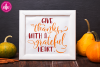 Give Thanks With a Grateful Heart - SVG, DXF, EPS Cut Files example image 2