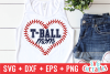 T-ball Mom | Cut File example image 1
