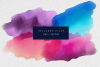 Watercolor Textures Pack (PNG and Vector) example image 2
