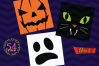 Halloween Monster Face svg - Halloween bundle Monster icons example image 3