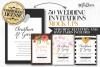 Wedding invitations layout pack example image 1