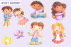 May Flowers Clip Art Collection example image 2