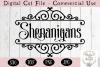 Shenanigans SVG, Saint Patrick's Day SVG, Shenanigans Sign example image 2