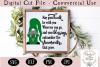 Irish Blessing SVG, Saint Patrick's Day Gnome SVG example image 1