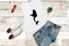 Mermaid Alphabet and Split Letters SVG Cut Files Pack example image 7
