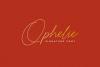 Ophelie - Script Signature example image 1