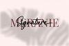 Meranie - Signature Font example image 4