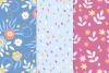 12 Easter Seamless Patterns example image 5