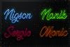 Neon Styles Effect For Photoshop example image 2