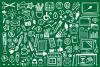 Office Doodle Clip Art Set example image 4