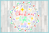 Christmas Lights Are All Around Quote SVG example image 3