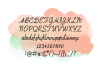 Amie - a sweet, handwritten, cursive font example image 2