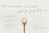 Salt and Sea Calligraphy Font example image 2