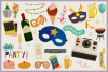 80 All About Party Vector Clipart & Seamless Patterns example image 2