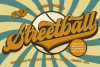 Streetball | Vintage font example image 1