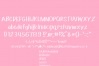 Buttercream Frosting Sans Serif Font 199 Glyphs PLUS EXTRAS! example image 2