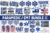 Paramedic / EMT Bundle 1 | SVG Cut File example image 1