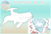 Beluga White Whale Mom Baby Nautical SVG Eps Png PDF files example image 1