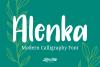 Alenka Handlettering Font example image 1