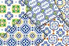 Mediterranean Seamless Patterns example image 2