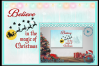 Believe in the magic of Christmas Santa and reindeer quote example image 1