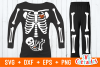 Pregnant Skeleton | SVG Cut File example image 1