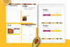Food Lovers Recipe and Cookbook Canva Template Ebook example image 11