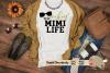 Rockin' the Mimi Life svg cut file Grandma svg New Mimi svg example image 1