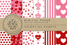 Valentine's Day Hearts-Red example image 1