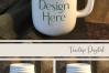 Mason Jar Mug Mockup, PSD Smart Object & JPG Mock-Up example image 7
