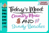 Today's Mood Country Music and Sandy Beaches example image 3