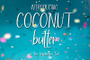 Coconut Butter - A Fun Hand-Written Font example image 1