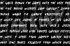 MANKIND - SVG Brush Font example image 4