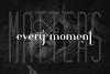 Hashtag Moderna - duo font Extra example image 8