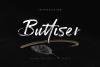 Buttiser Brush Font example image 1