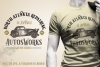 Old Vintage Car vector, Auto Logo Template Ai, Eps example image 1