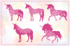 Unicorn SVG Bundle - The Complete Craft Collection example image 10