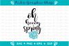 spring svg, hey spring svg, spring cutting files, spring svg example image 2
