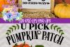 U Pick Pumpkins SVG | Fall Truck SVG | Pumpkin Patch SVG example image 4