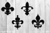 Fleur de lis by Digital Doodle Pad example image 1