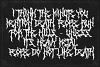 Monumental Purgatory - 3 Awesome Deathmetal Fonts example image 6